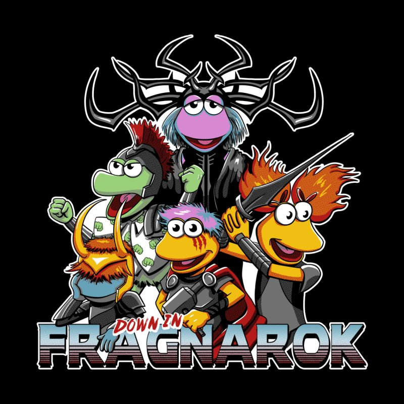 Fragnarok Men's T-Shirt by Stephen Hartman Illustration Shop