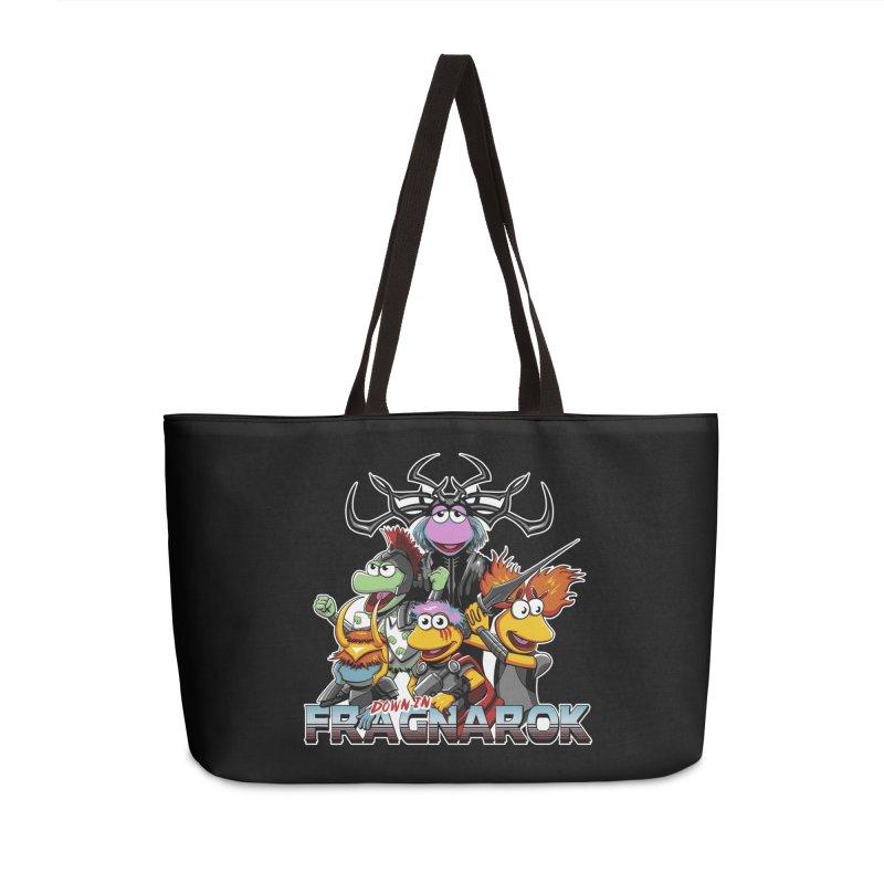 Fragnarok Accessories Weekender Bag Bag by Stephen Hartman Illustration Shop