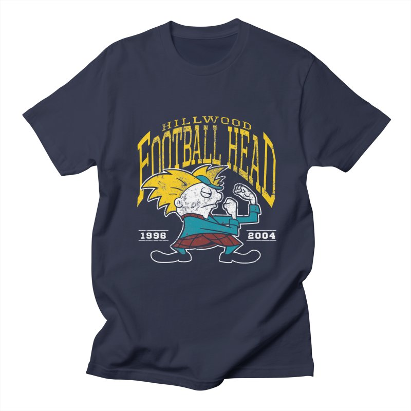 Football Head Men's T-Shirt by Stephen Hartman Illustration Shop
