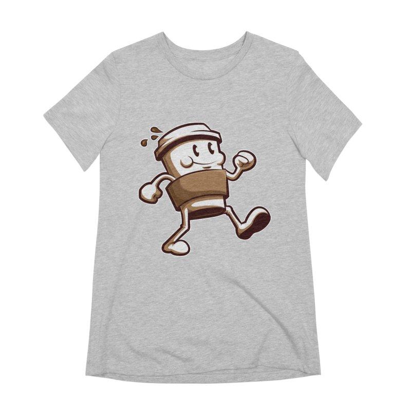 Joe on the Go Women's Extra Soft T-Shirt by Stephen Hartman Illustration Shop