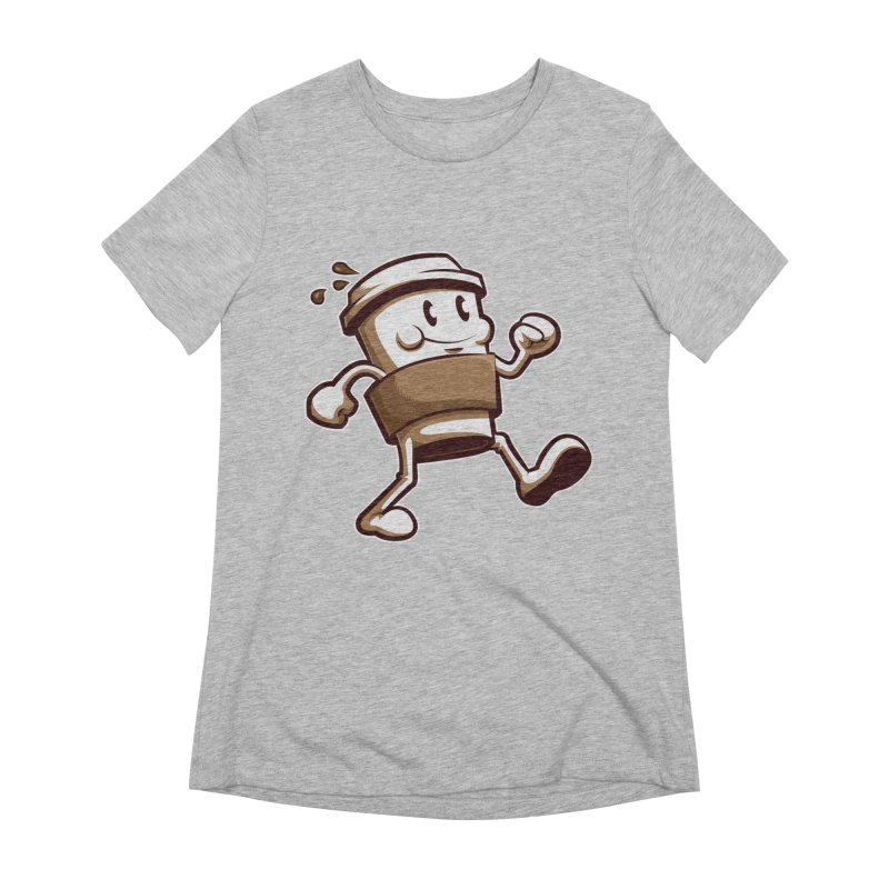Joe on the Go Women's Extra Soft T-Shirt by Stephen Hartman Illustration Shop