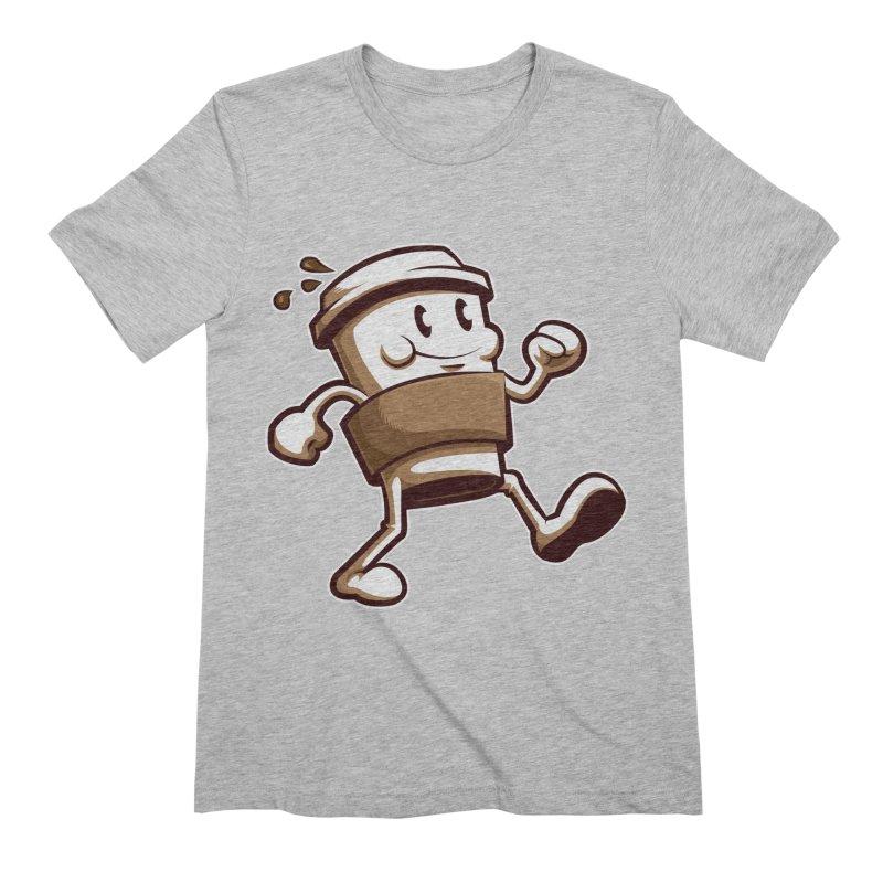 Joe on the Go Men's Extra Soft T-Shirt by Stephen Hartman Illustration Shop
