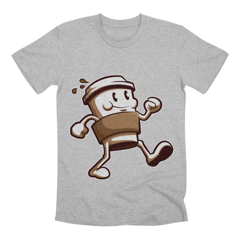 Joe on the Go Men's Premium T-Shirt by Stephen Hartman Illustration Shop