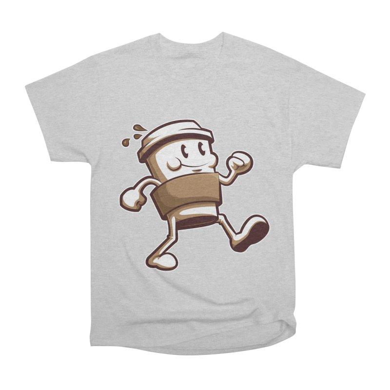 Joe on the Go Men's Heavyweight T-Shirt by Stephen Hartman Illustration Shop
