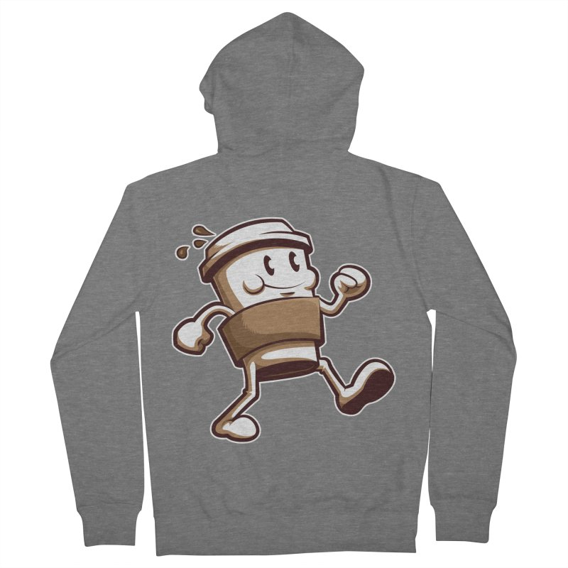 Joe on the Go Women's French Terry Zip-Up Hoody by Stephen Hartman Illustration Shop