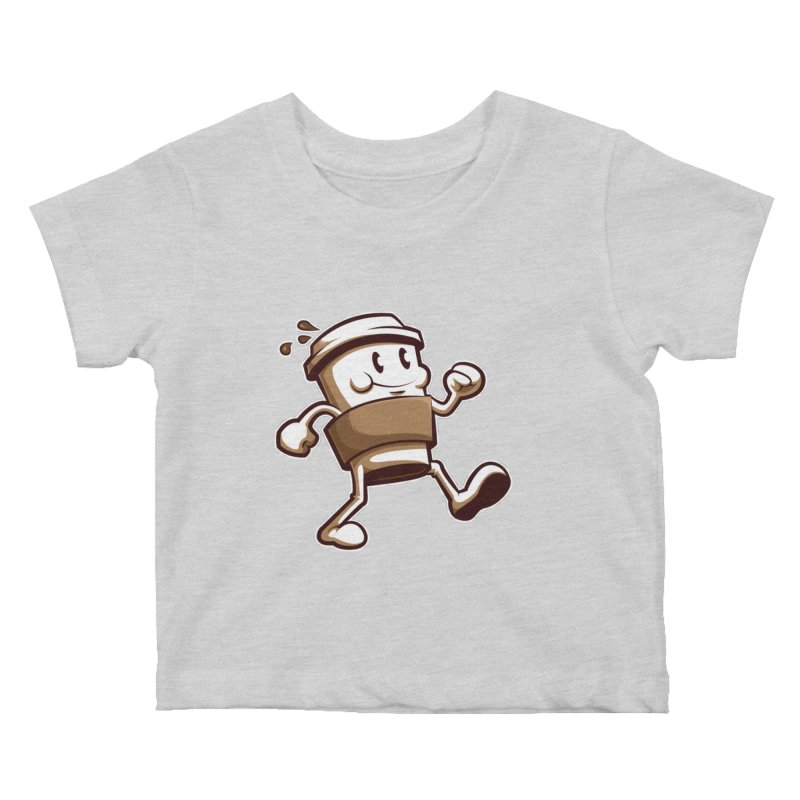 Joe on the Go Kids Baby T-Shirt by Stephen Hartman Illustration Shop