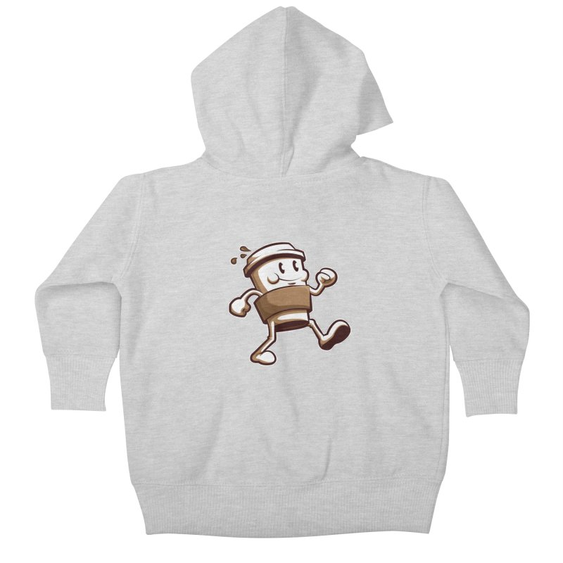 Joe on the Go Kids Baby Zip-Up Hoody by Stephen Hartman Illustration Shop
