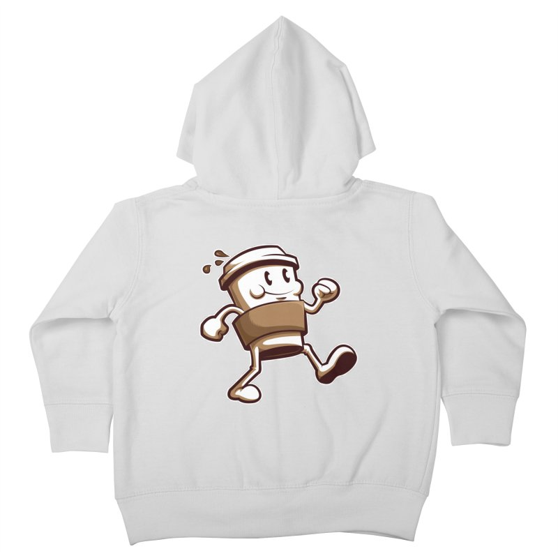 Joe on the Go Kids Toddler Zip-Up Hoody by Stephen Hartman Illustration Shop
