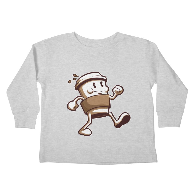 Joe on the Go Kids Toddler Longsleeve T-Shirt by Stephen Hartman Illustration Shop