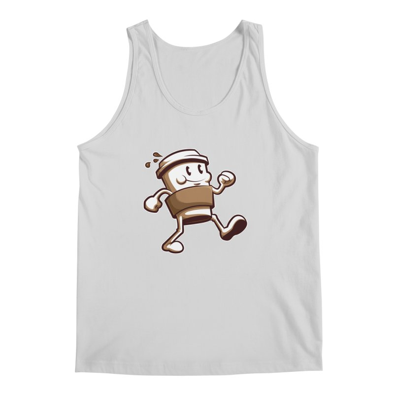 Joe on the Go Men's Regular Tank by Stephen Hartman Illustration Shop