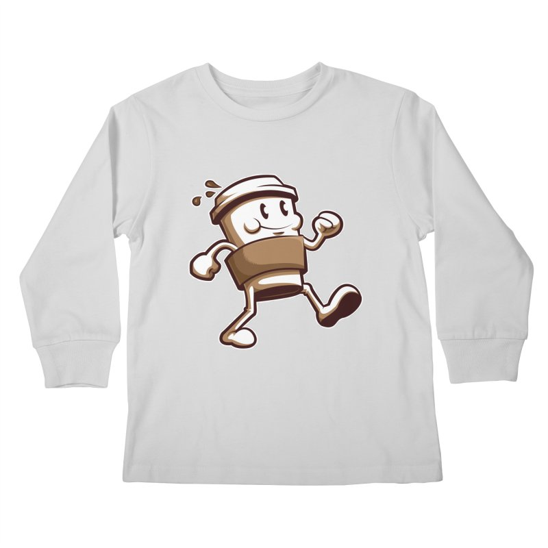 Joe on the Go Kids Longsleeve T-Shirt by Stephen Hartman Illustration Shop