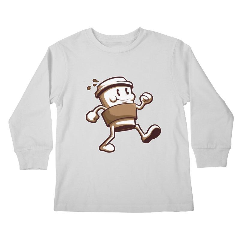 Joe on the Go Kids Longsleeve T-Shirt by Stephen Hartman Illustration Shop