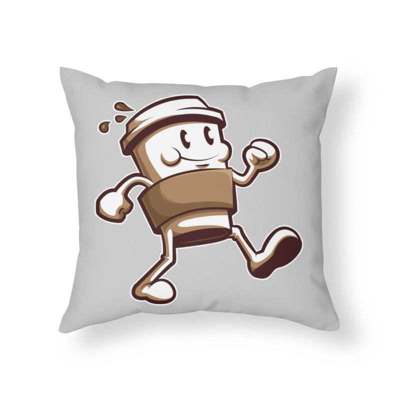 Joe on the Go Home Throw Pillow by Stephen Hartman Illustration Shop