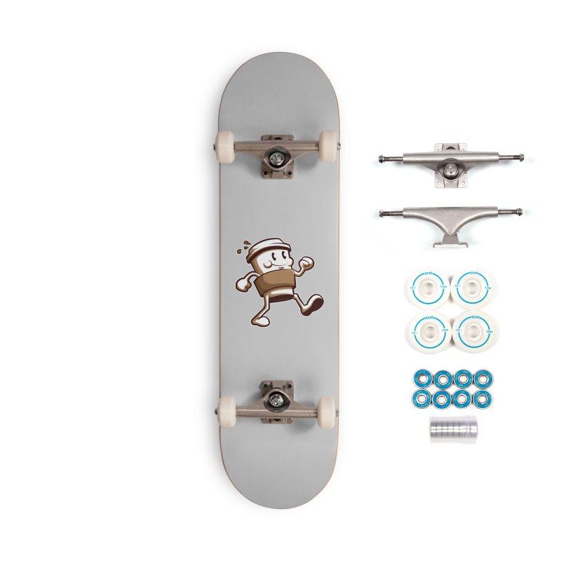 Joe on the Go Accessories Complete - Basic Skateboard by Stephen Hartman Illustration Shop