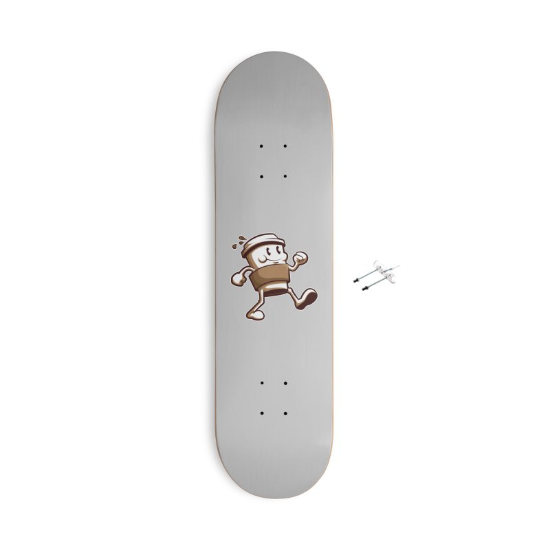 Joe on the Go Accessories With Hanging Hardware Skateboard by Stephen Hartman Illustration Shop