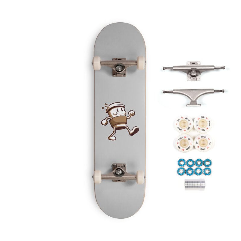 Joe on the Go Accessories Complete - Premium Skateboard by Stephen Hartman Illustration Shop
