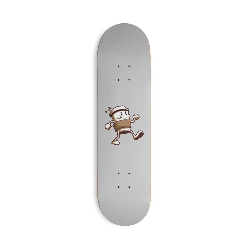 Joe on the Go Accessories Deck Only Skateboard by Stephen Hartman Illustration Shop