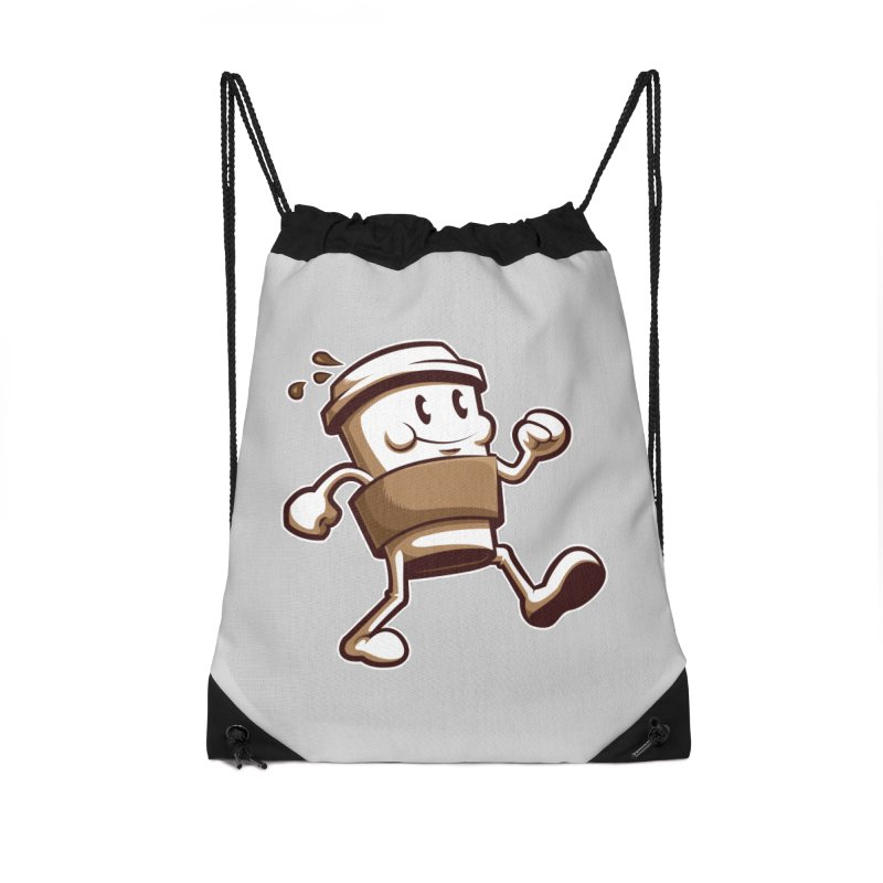 Joe on the Go Accessories Drawstring Bag Bag by Stephen Hartman Illustration Shop