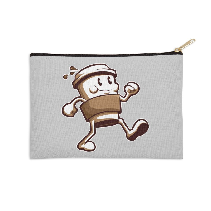 Joe on the Go Accessories Zip Pouch by Stephen Hartman Illustration Shop