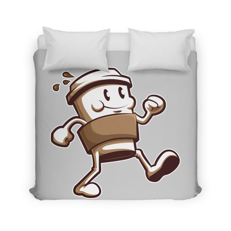 Joe on the Go Home Duvet by Stephen Hartman Illustration Shop