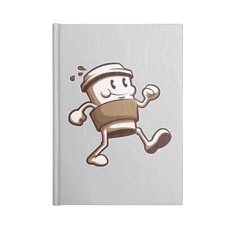 Joe on the Go Accessories Lined Journal Notebook by Stephen Hartman Illustration Shop