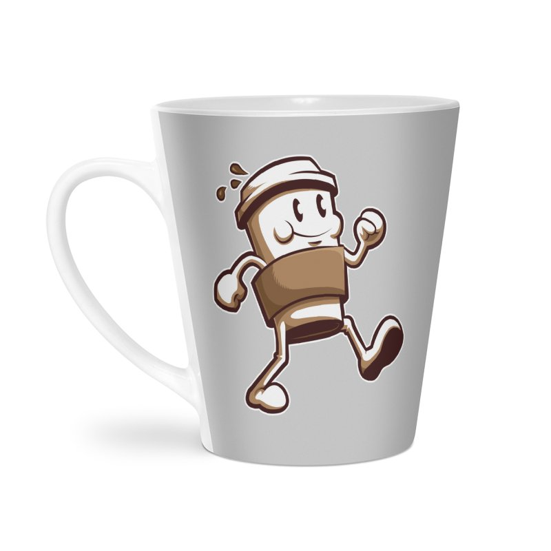 Joe on the Go Accessories Latte Mug by Stephen Hartman Illustration Shop