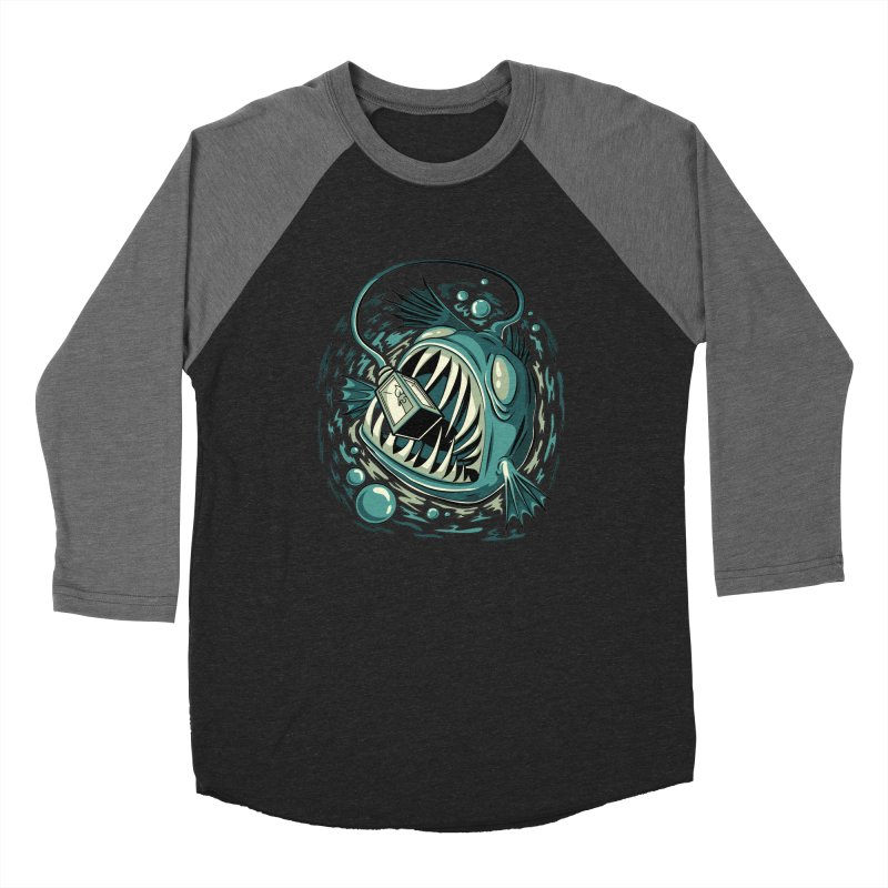 Lantern Fish Men's Longsleeve T-Shirt by Stephen Hartman Illustration Shop