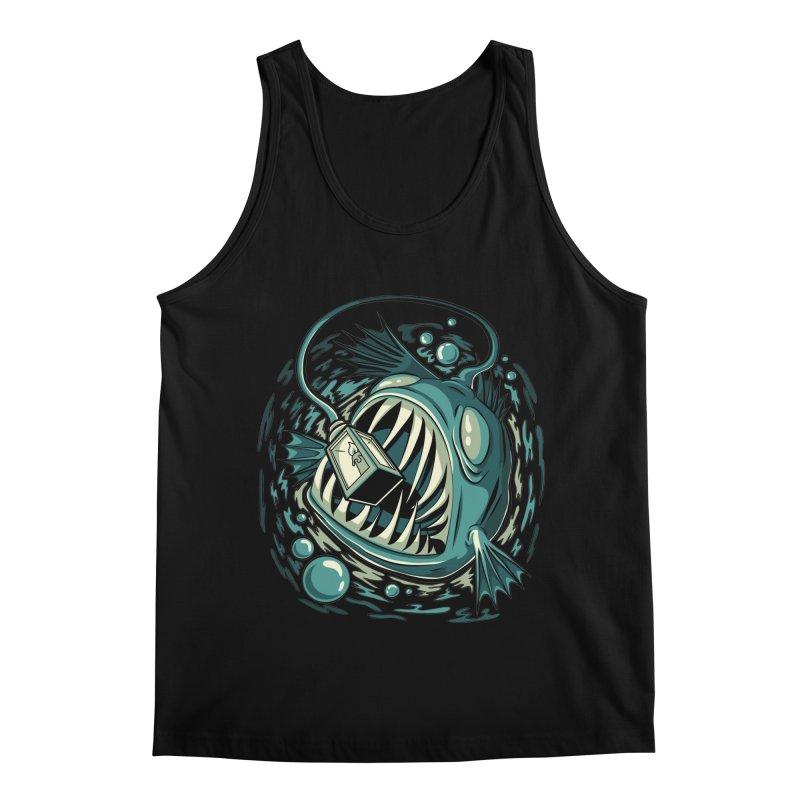Lantern Fish Men's Regular Tank by Stephen Hartman Illustration Shop