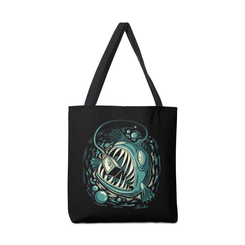 Lantern Fish Accessories Bag by Stephen Hartman Illustration Shop