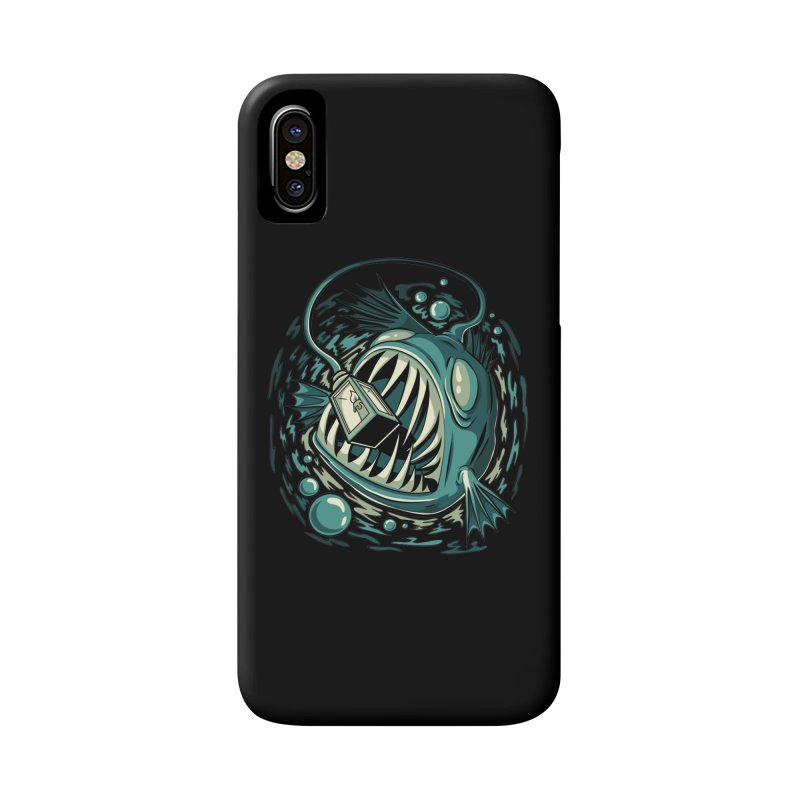 Lantern Fish Accessories Phone Case by Stephen Hartman Illustration Shop