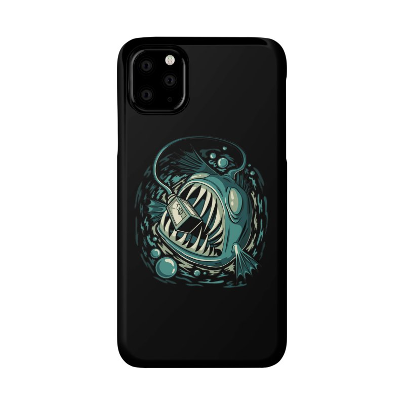 Lantern Fish Accessories Phone Case by Stephen Hartman Illustration Shop
