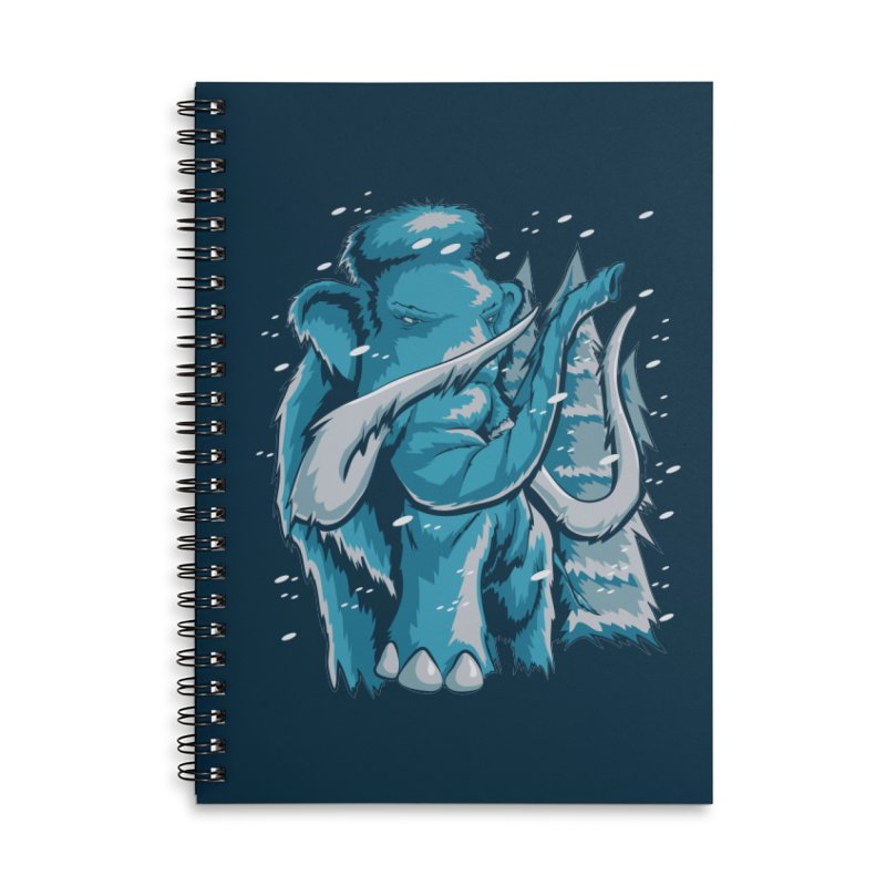 Arctic Giant Accessories Notebook by Stephen Hartman Illustration Shop