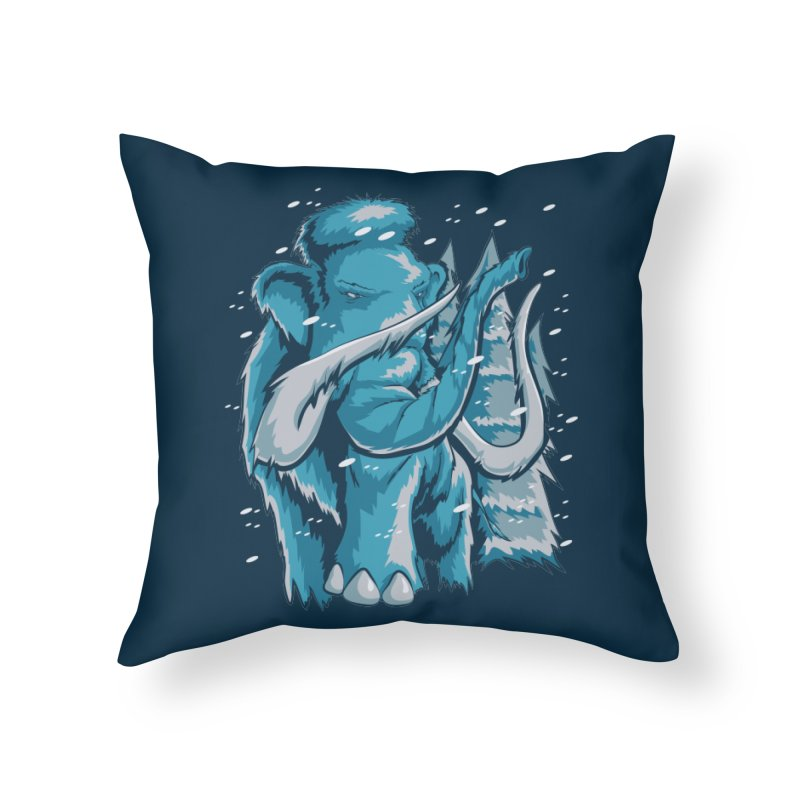Arctic Giant Home Throw Pillow by Stephen Hartman Illustration Shop
