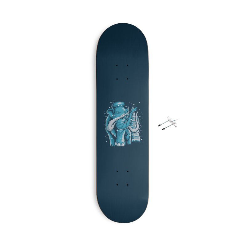 Arctic Giant Accessories With Hanging Hardware Skateboard by Stephen Hartman Illustration Shop