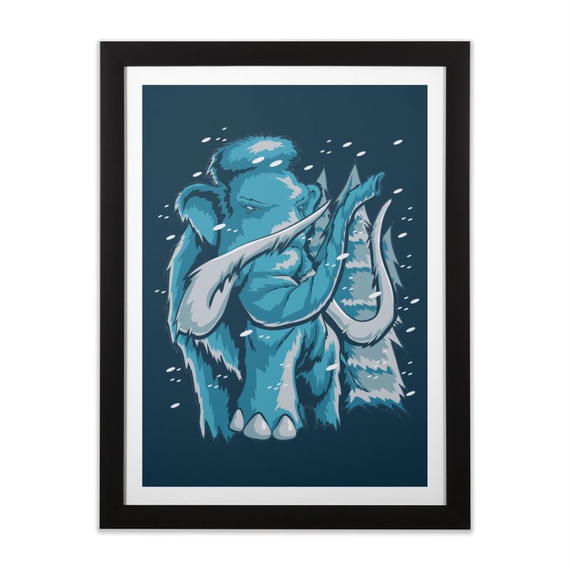 Arctic Giant Home Framed Fine Art Print by Stephen Hartman Illustration Shop