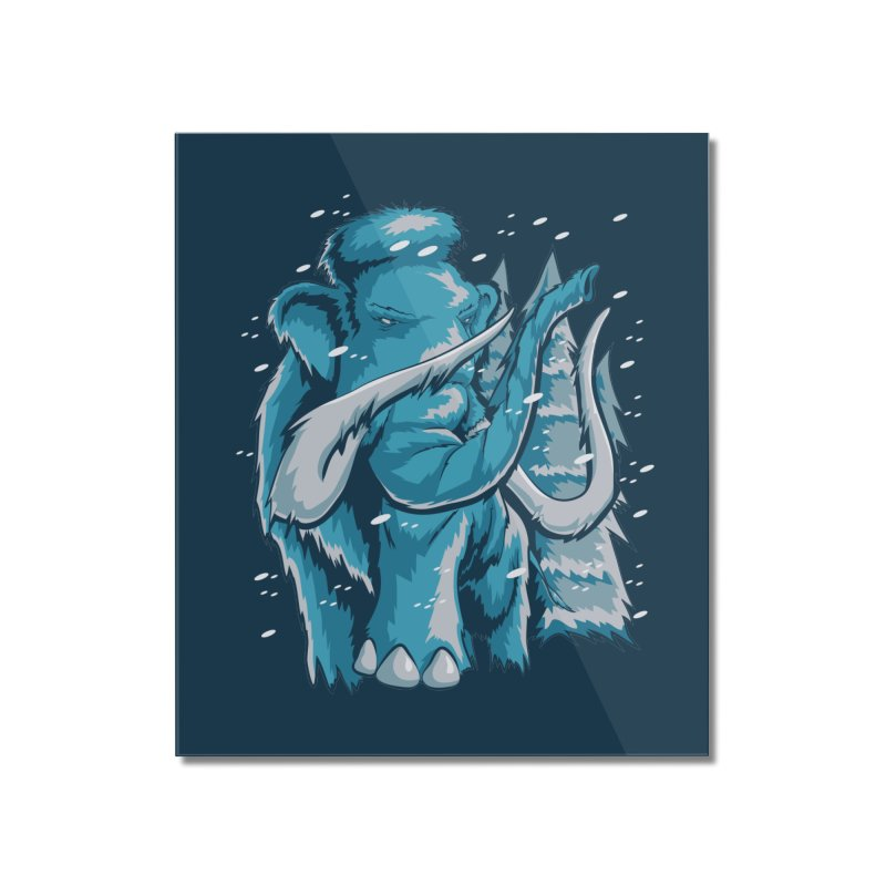 Arctic Giant Home Mounted Acrylic Print by Stephen Hartman Illustration Shop