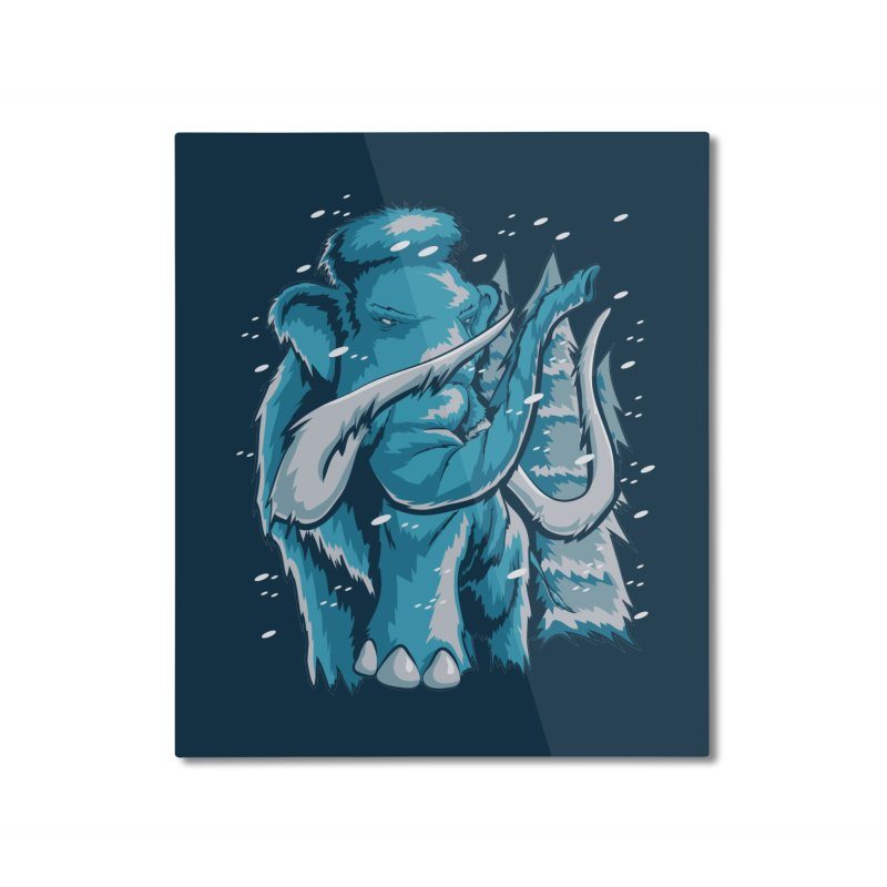 Arctic Giant Home Mounted Aluminum Print by Stephen Hartman Illustration Shop
