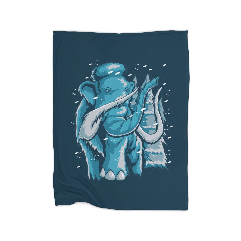 Arctic Giant Home Fleece Blanket Blanket by Stephen Hartman Illustration Shop