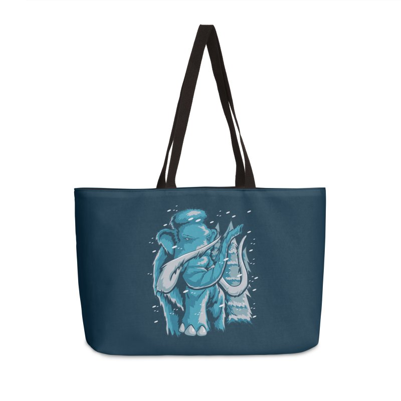 Arctic Giant Accessories Weekender Bag Bag by Stephen Hartman Illustration Shop