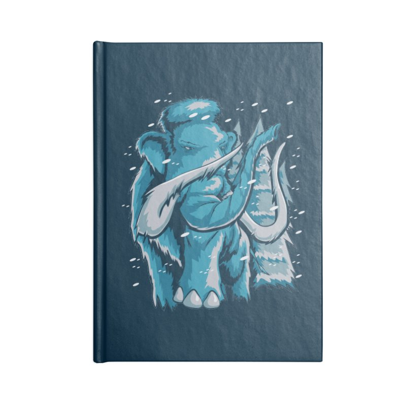 Arctic Giant Accessories Blank Journal Notebook by Stephen Hartman Illustration Shop