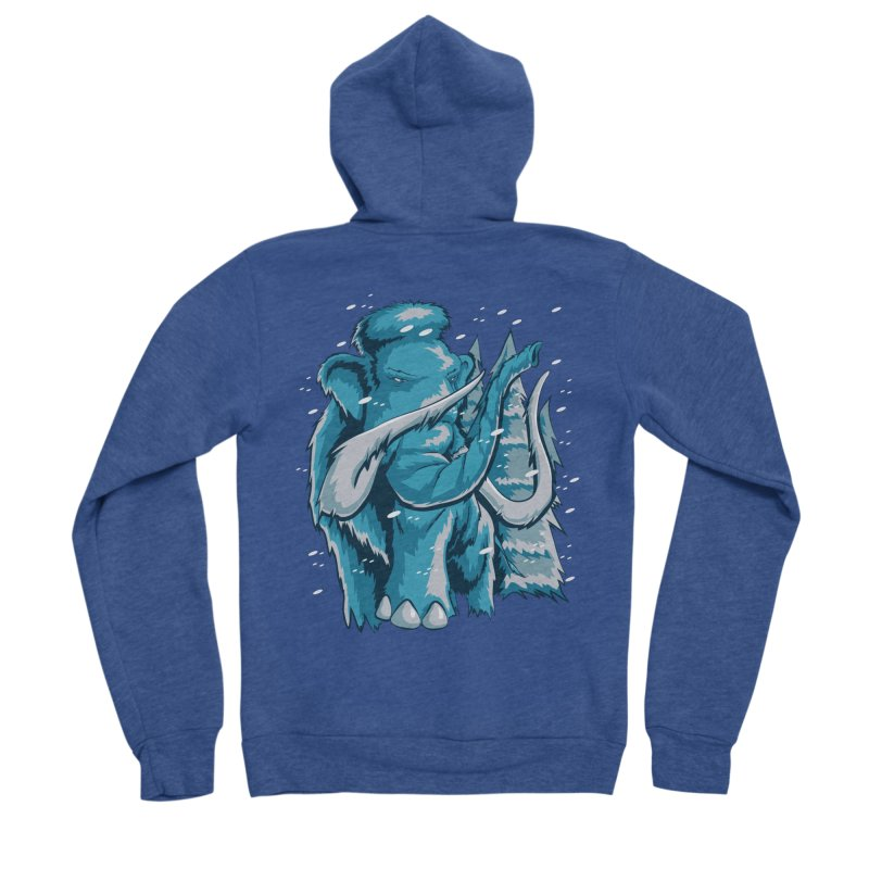 Arctic Giant Men's Sponge Fleece Zip-Up Hoody by Stephen Hartman Illustration Shop