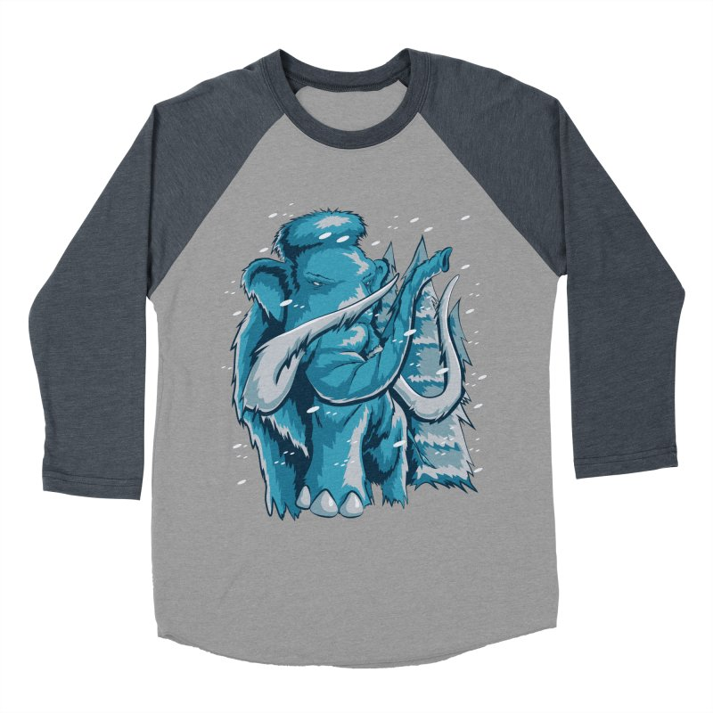 Arctic Giant Women's Baseball Triblend Longsleeve T-Shirt by Stephen Hartman Illustration Shop