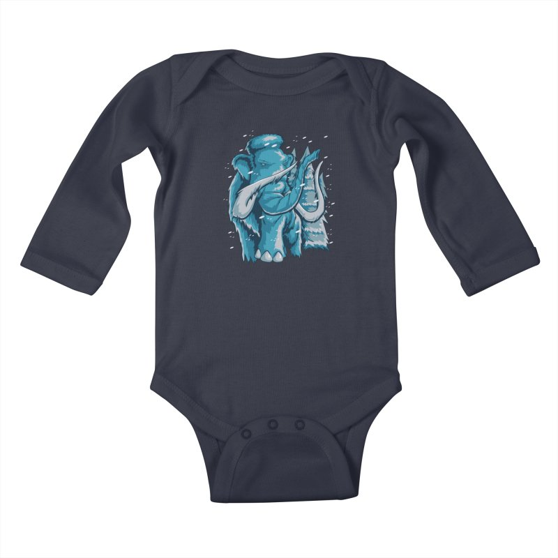 Arctic Giant Kids Baby Longsleeve Bodysuit by Stephen Hartman Illustration Shop