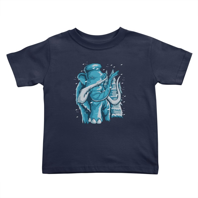 Arctic Giant Kids Toddler T-Shirt by Stephen Hartman Illustration Shop