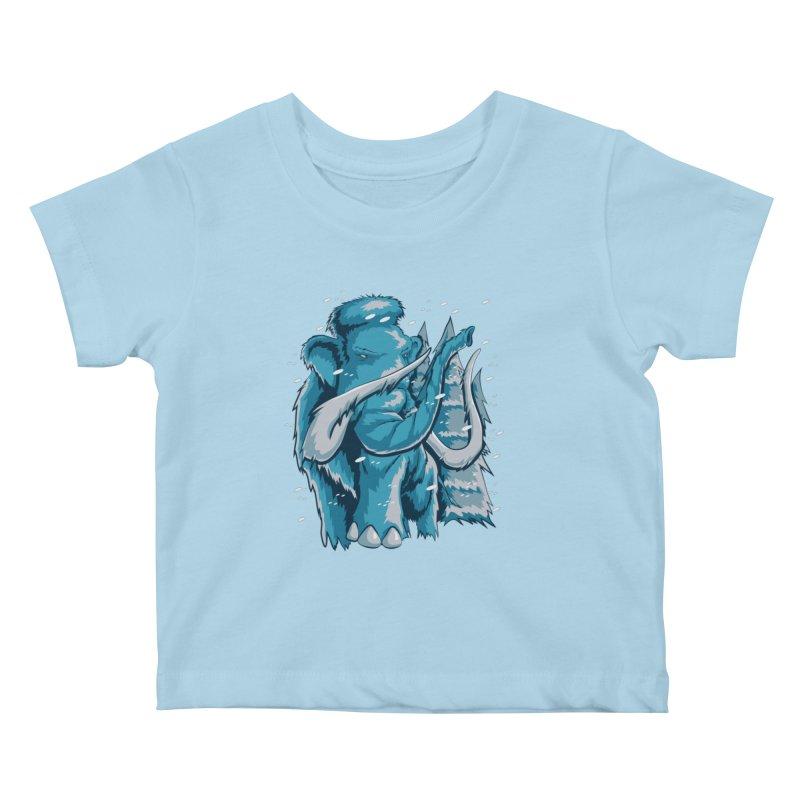 Arctic Giant Kids Baby T-Shirt by Stephen Hartman Illustration Shop