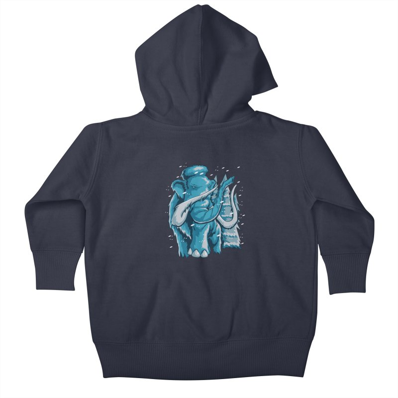 Arctic Giant Kids Baby Zip-Up Hoody by Stephen Hartman Illustration Shop