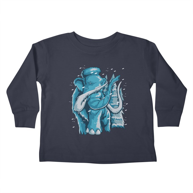 Arctic Giant Kids Toddler Longsleeve T-Shirt by Stephen Hartman Illustration Shop