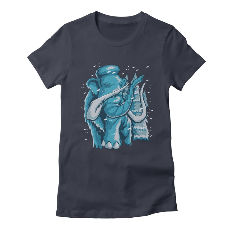 Arctic Giant Women's Fitted T-Shirt by Stephen Hartman Illustration Shop