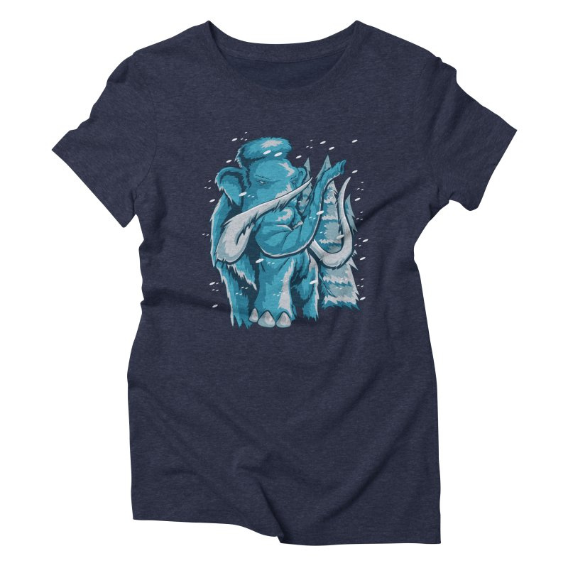Arctic Giant Women's Triblend T-Shirt by Stephen Hartman Illustration Shop