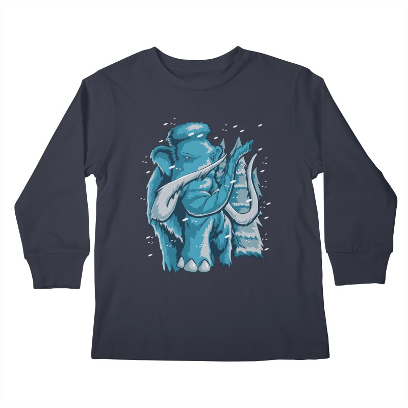 Arctic Giant Kids Longsleeve T-Shirt by Stephen Hartman Illustration Shop